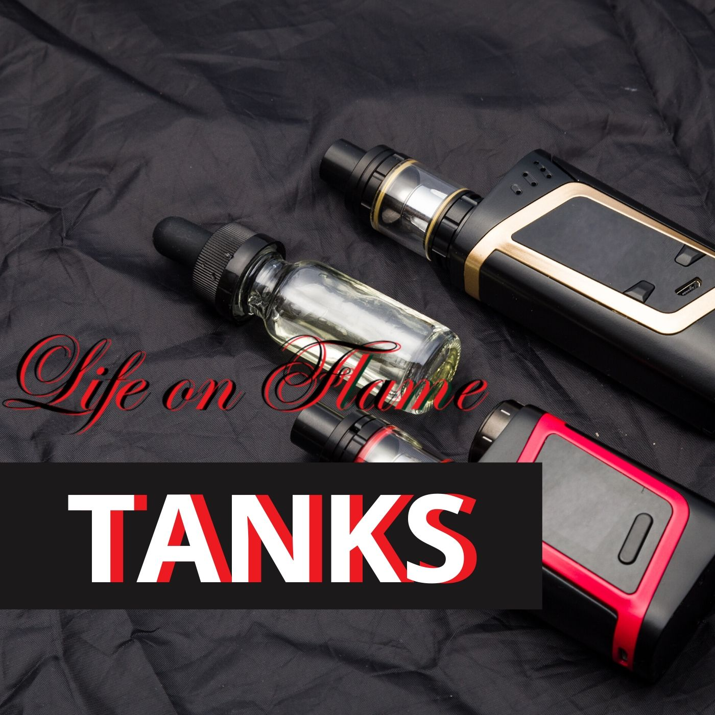 Ecig Tanks - Life on Flame - pleasure in life Bring your ecig addiction to the next level with our branded and high quality vaping tanks. Enjoy the best way to quit smoking like never before.